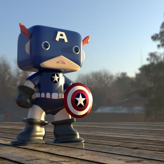 Captain America for Halloween